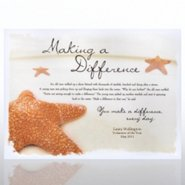Theme Plaque - Starfish: Making a Difference